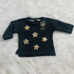Baby girl star sweater ⭐️